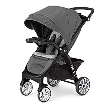 Chicco 3-in-1 Bravo LE Stroller, Coal (06079228220070)