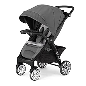 Chicco Bravo LE Stroller, Black/Grey