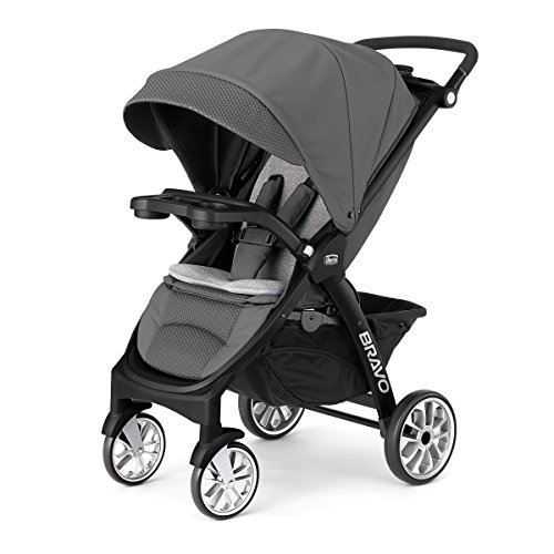 chicco-bravo-le-stroller-black-grey