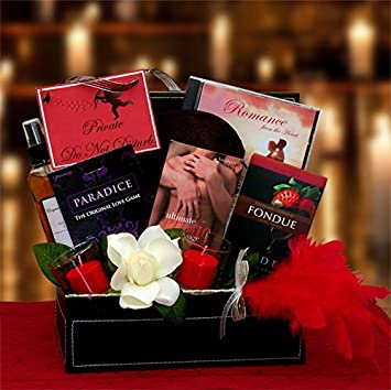 lets spice up valentines day romantic and sexy valentines day gift basket