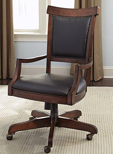 (Liberty Furniture INDUSTRIES 273-HO193 Brayton Manor Jr Executive Desk Chair, 23