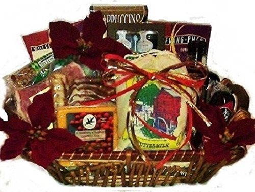 Hearthside Breakfast Basket with Bacon & Ham by Goldspan Gift Baskets