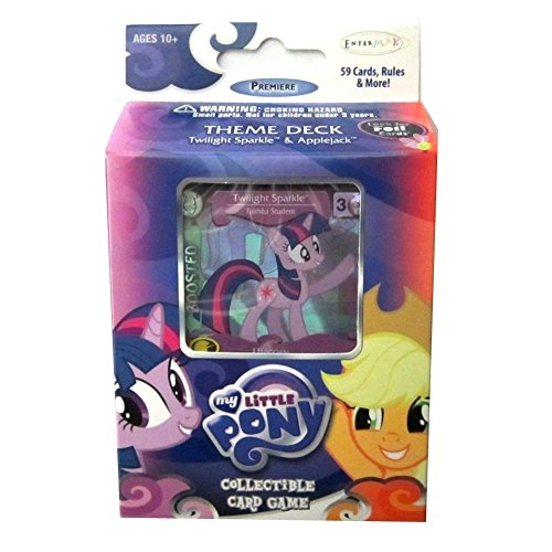 My Little Pony Enterplay Collectible Card Game Twilight Sparkle & Applejack Theme Deck [59 Cards]
