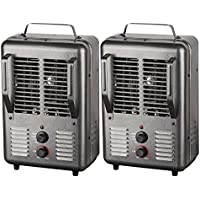 King Electric PHM-1 1500-watt Portable Milkhouse Heater (2 Pack)