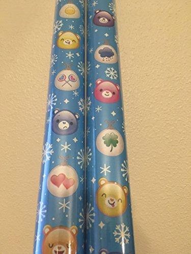 CARE BEARS ~ Fun Gift Wrap. 20 Sq. Ft. (1 Roll)