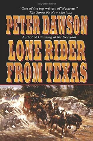 book cover of Lone Rider from Texas