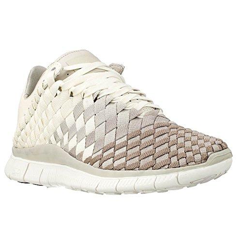 Nike W Free Inneva Woven, Chaussures de Sport Femme Blanc (voile / pierre claire - minerai de fer clair)