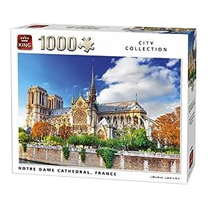 King 5660 Notre Dame Parigi Puzzle Da Pezzi 68 X 49 Cm