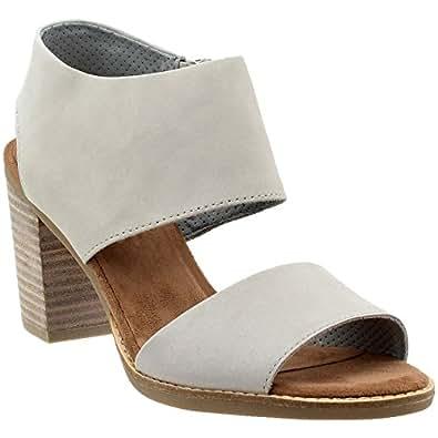 Amazon Com Toms Women S Majorca Cutout Sandal Drizzle