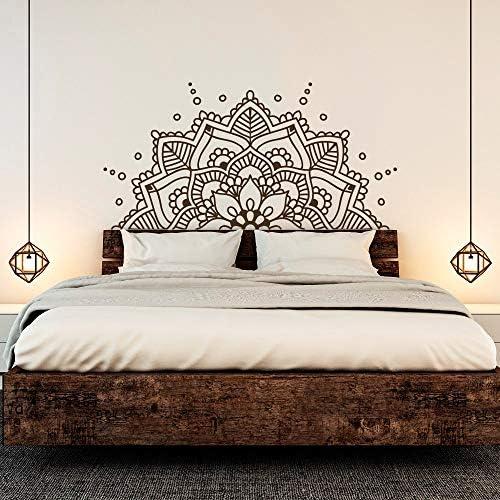 Mandala Etiqueta de la pared | Yoga Decoración | Pegatina de pared | Mural | Decoración de pared | Sticker | vinilos de pared kp38 (50 cm x 100 cm): Amazon.es: Bricolaje y herramientas