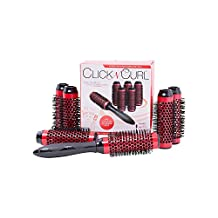 Click n Curl Small-Full Set Red, 1 Count