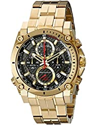 Bulova Mens 97B138 Analog Display Quartz Gold Watch