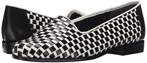 Slip white Black on Patent Liz Women's Trotters Ynqw7TtY