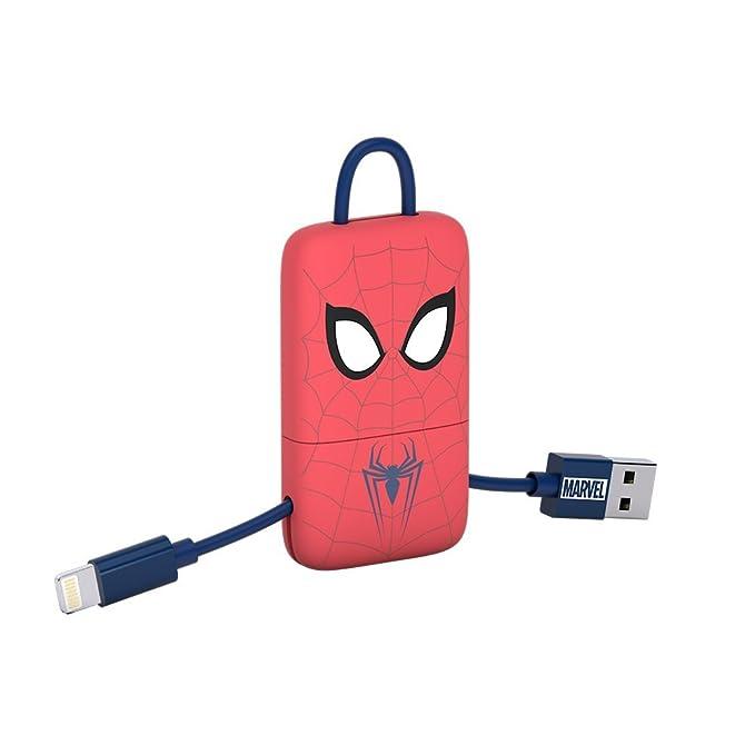 13 opinioni per Tribe Marvel Cavo USB Lightning (22 cm) per Trasmissione Dati e Ricarica per