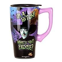 Wizard Of Oz I'm a Witch Travel Mug, Purple