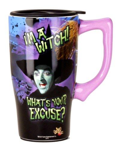 Wizard Of Oz I'm a Witch Travel Mug, Purple - Witch Wizard Of Oz