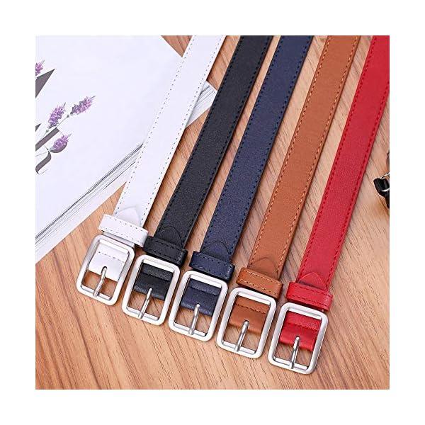 Firally Hot sale Cintura,Cinghie Vita Cinture in Pelle Donna Larga Cintura in Vita Solida Fascia Dimensioni Regolabili… 3 spesavip