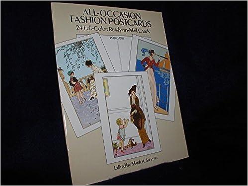 Amazon Fr All Occasion Fashion Postcards Mark Stevens