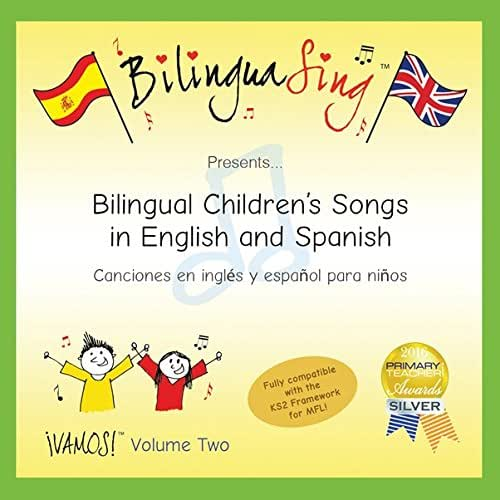 LOVED BY PARENTS! Children's Songs in Spanish | Canciones Infantiles Para Niños En Español | BilinguaSing CD (VAMOS Vol.2)