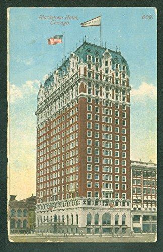 RARE ORDER SAMPLE CARD For The BLACKSTONE HOTEL CHICAGO ILLINOIS Postcard