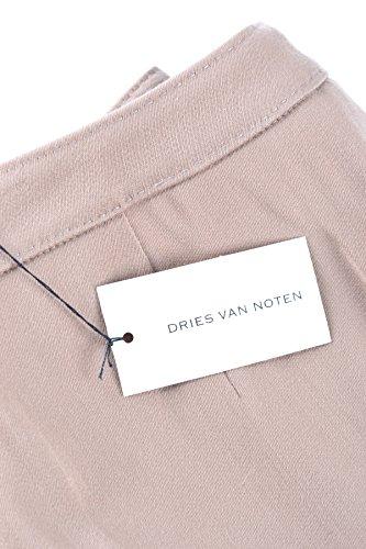 Dries Van Noten Mujer MCBI104016O Beige Lana Pantalón