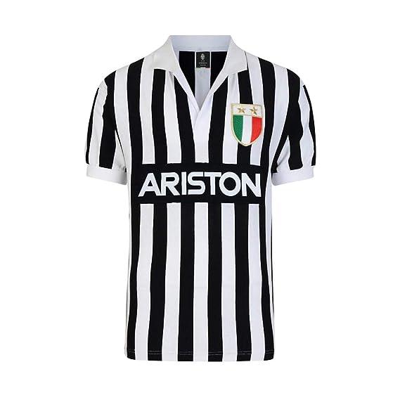 new product b3608 e5aff Official Retro Juventus 1984 Retro Home Shirt: Amazon.co.uk ...