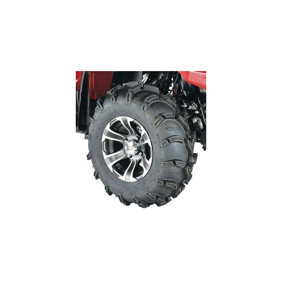 ITP Mud Lite XL, SS312, Tire/Wheel Kit   26x10x12   Matte Black/Machined 44273R