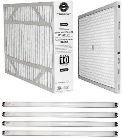 1 BioSponge Plus Replacement AIRTEVA 21 1//2 x 23 1//4 AC filter//Furnace filter with