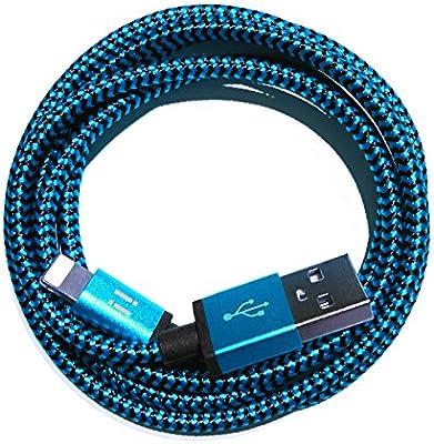 Nylon USB de 8 pin cable de carga Cable de datos cargador compatible con [Apple iPhone 10 x 8 8plus 7 7Plus 6S 6splus 6 6plus 5s 5 C 5 se   iPad   ...