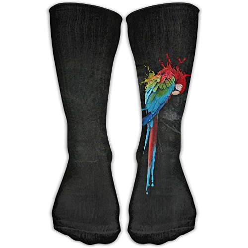 Macaw Costumes (STZYMM Macaw Parrot Parakeet Design Stockings Long Socks Perfect Unisex Gift)