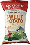 Jackson's Honest Potato Chips (Non-GMO Sweet Potato, Bags), 5 oz.