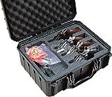 Case Club Waterproof 4 Revolver/Semi-Auto Case with Silica Gel to Help Prevent Gun Rust