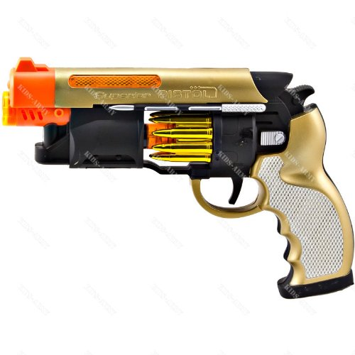 Blade Runner Style Blaster Toy Gun Lights and Sounds Machine Pistol