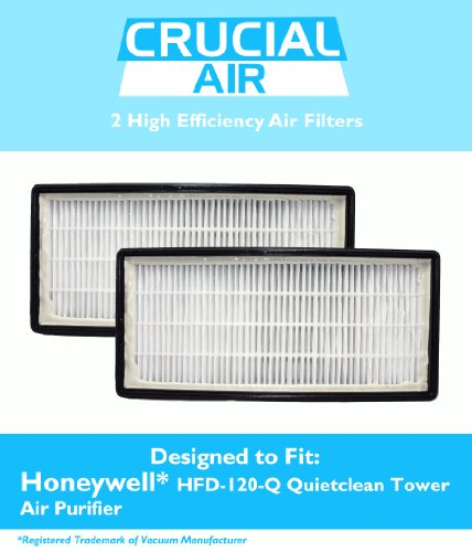 2 Honeywell Air Filters Fits HFD-120-Q Quietclean Tower 267574700