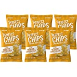 Ips White Cheddar Protein Chips - Nutritious, Gluten Free, Non GMO Snack with Whole Grain Corn & Whey - Healthy Crisps for Kids/Diet - Delicious Cheese Flavor - 4 oz Bags, 6 Count (Packaging may vary)