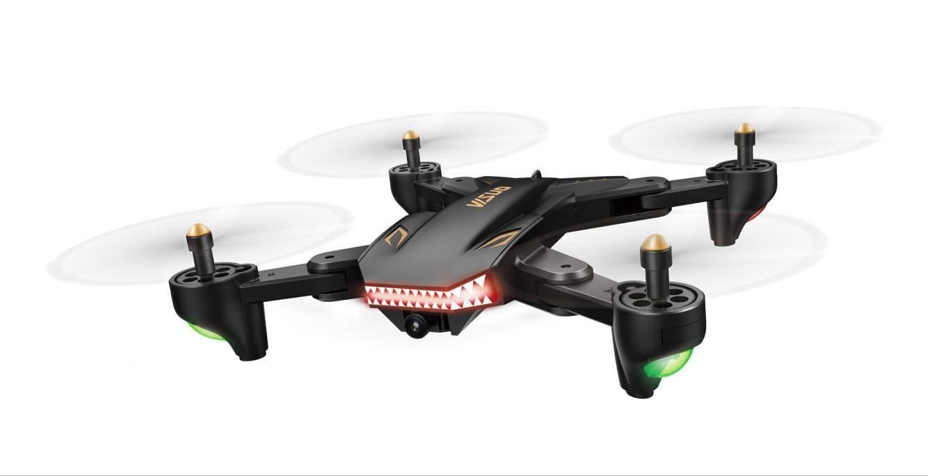 Zantec Drone 720P WIFI FPV plegable con HD,cámara gran angular RC Quadcopter,XS809S avión de cuatro ejes