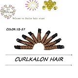 Spiral Curls Crochet Hair Crochet Braids Tapered Cut Each Box 20strands Synthetic Spirals Curled10inch saniya curl^^^1b-27