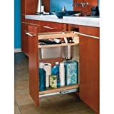 Rev-A-Shelf 445-VCG20-8 Vanity Grooming Organizer - Wood - Maple-Natural