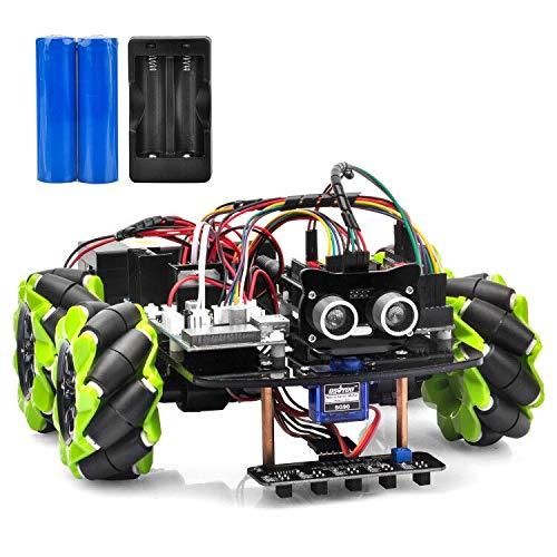 Robot Educativo para armar y programar en Arduino OSOYOO c