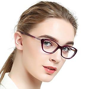 OCCI CHIARI Women Casual Eyewear Frames Clear Lens Eyeglasses