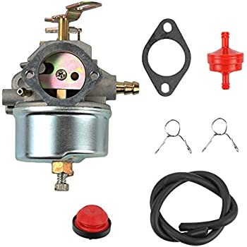 fuel filter for tecumseh hm100 amazon.com: atoparts carburetor with fuel filter primer ...
