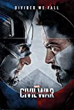 Captain America 3: Civil War - Marvel Movie Poster / Print (Regular Style - Divided We Fall) (Size: 24'' x 36'') (By POSTER STOP ONLINE)