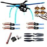 Cheap Qwinout S550 DIY RC Quadcopter Drone Unassembly PNF Combo Set KK Multicopter Flight Control (No Battery Remote Controller)