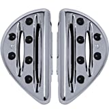Arlen Ness Deep Cut Floorboards - Passenger - Chrome 06-839 by Arlen Ness