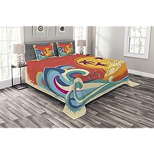 51lgqdGJ8LL._SS300_ Surf Bedding Sets & Surf Comforter Sets