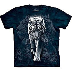 The Mountain White Tiger Stalk T-Shirt - XXX Large