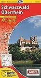 Schwarzwald / Oberrhein 24 GPS wp cycling map
