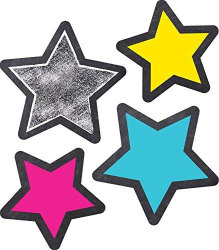 Carson Dellosa Extra Large STARS Cut-Outs