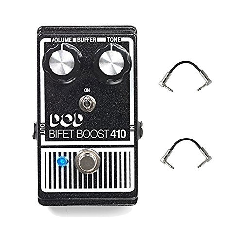 Digitech DOD410-14 BiFet Boost guitar effects pedal With Patch pedal Cable by DigiTech