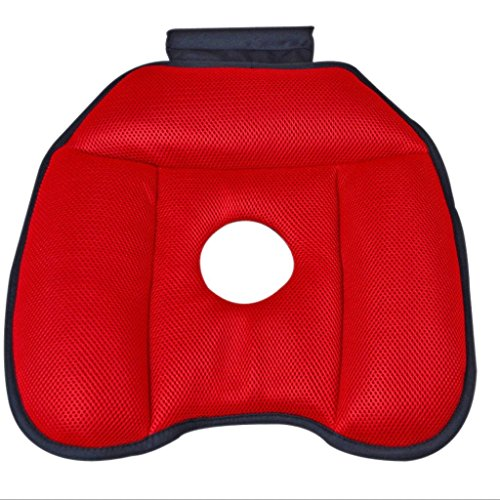 Wheelchair Yoga Office Chair Beautiful Butt Shape Breathable Slow Rebound Four Seasons Universal Seat Cushion (Color : 1#) ()